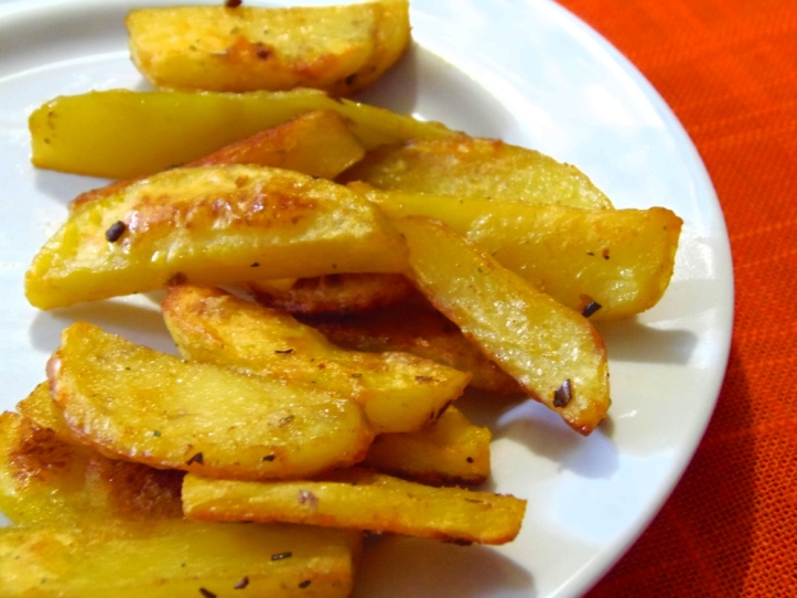 Pečeni hrskavi krumpirići