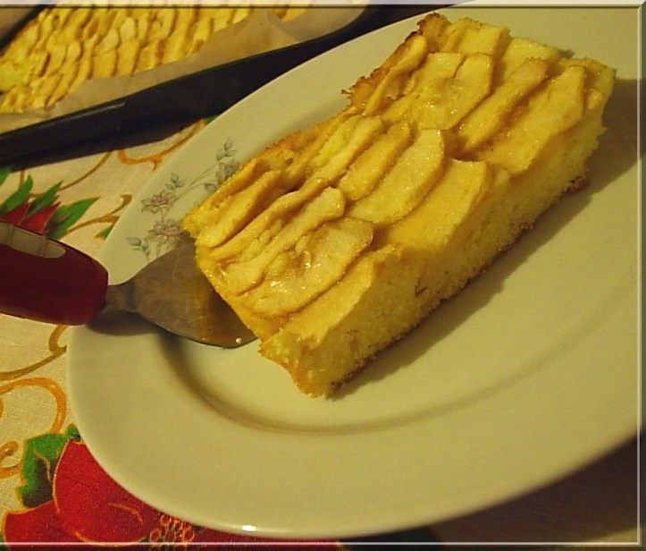Brzi kolač od jabuka