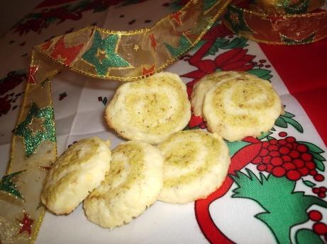 Hrskavi pužići od pistacija
