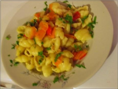 Tuna pasta salata