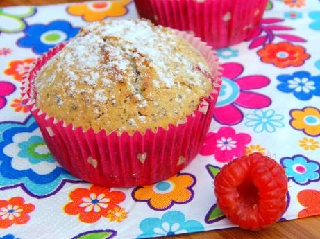 Muffini s malinama
