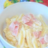 Brza tjestenina sa šunkom i vrhnjem